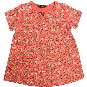 Oilily Floral Shift Dress XS (4-5Y)